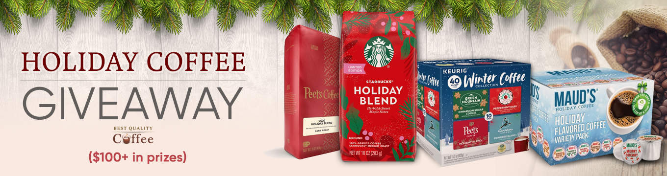 Coffee Giveaways - Best Quality Coffee Holiday Coffee Giveaway – Holiday Coffee Flavors