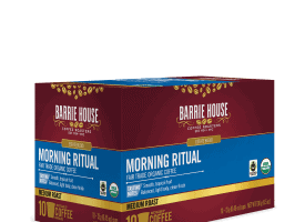 Barrie House Organic Medium Roast Morning Ritual Coffee Pods 10ct