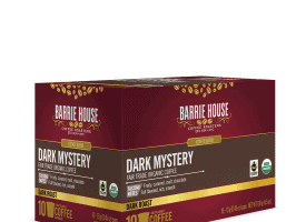 Barrie House Organic Dark Mystery Coffee Pods 10ct
