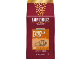 Barrie House Pumpkin Spice Light Roasted Coffee 10oz