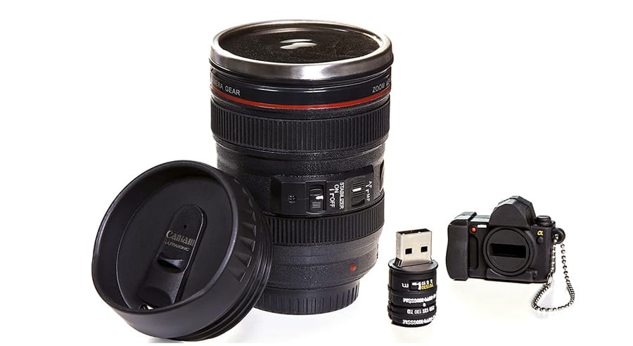 Camera Lens Cup - Unique Coffee Mugs