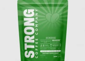 Strong Coffee Company Protein Coffee - Sunrise Matcha