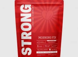 Strong Coffee Company Protein Coffee - Morning Fix Latte