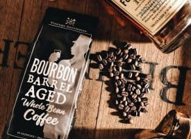 Bourbon Barrel Aged Coffee- Two 10oz Bags