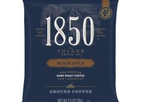 Folgers® 1850 Black Gold Dark Roast Ground Coffee
