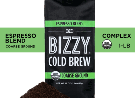 Bizzy Coffee Cold Brew Espresso Medium Dark Roast