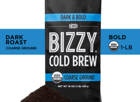 Bizzy Coffee Cold Brew Dark and Bold Roast