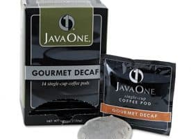 Java One™ Coffee Pods, Colombian Decaf, Single Cup, Pods,