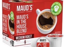Maud's In The House Blend Medium Roast Coffee Pods - 24ct