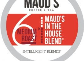 Maud's In The House Blend Medium Roast Coffee Pods