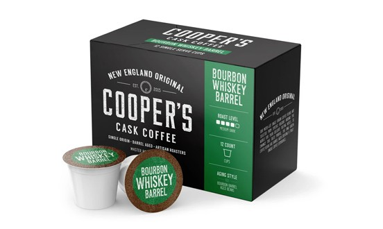 Cooper Cask Coffee - exotic coffee pods