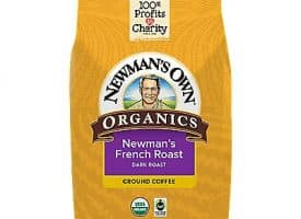 10 Oz Newman's Own Organics French Roast Coffee 10 Oz. Ground Coffee