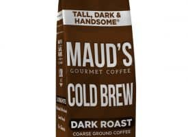 Maud's Tall Dark & Handsome Dark Roast Cold Brew Ground Coffee (Default Title)
