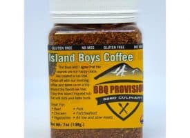 8059876 7 oz 5280 Island Boys BBQ Rub Coffee