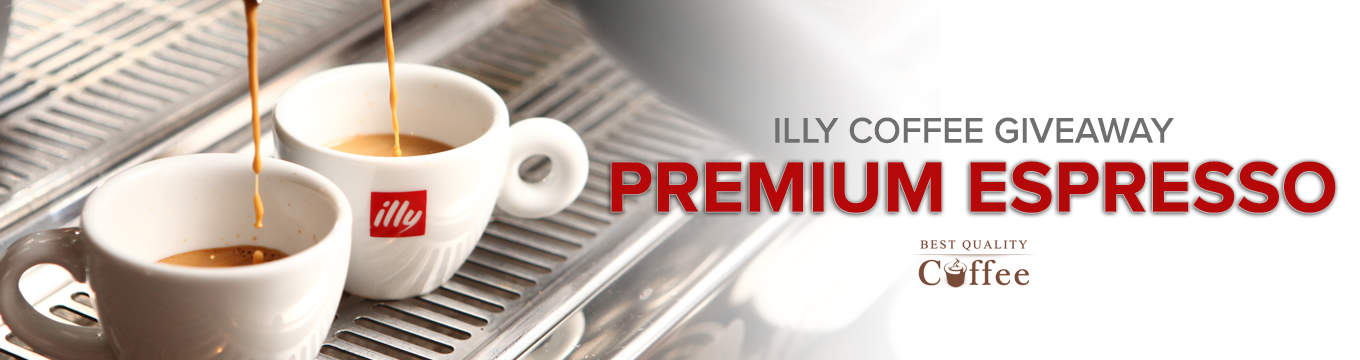 Coffee Giveaways - Best Quality Coffee Illy Coffee Giveaway – Best Quality Coffee