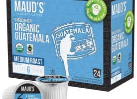 Maud's Organic Single-Origin Fair-Trade Guatemala Medium Roast Coffee Pods - 48ct (48ct)