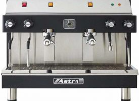 Astra MEGA II Semi-Automatic 2 Group Commercial Espresso Machine