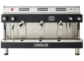 Astra MEGA III Automatic 3 Group Commercial Espresso Machine
