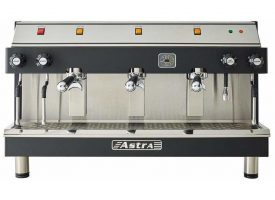 Astra MEGA III Semi-Automatic 3 Group Commercial Espresso Machine