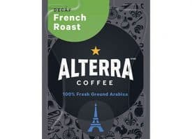 ALTERRA® Coffee Freshpack Pods, French Roast Decaf, Dark Roast,