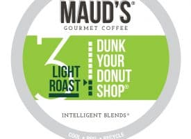 Maud's Dunk Your Donut Shop Light Roast Coffee Pods