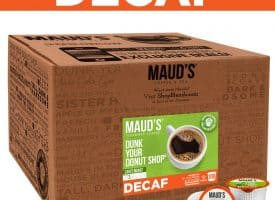 Maud's Dunk Your Donut Shop Decaf Light Roast Coffee Pods - 100ct