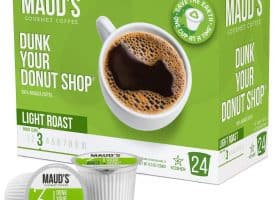 Maud's Dunk Your Donut Shop Light Roast Coffee Pods - 24ct (24ct)