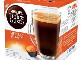 Coffee Mate 77319 Medium Roast Coffee Pods - Black