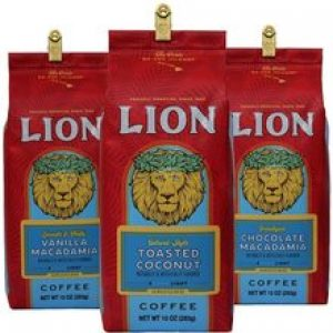Lion Tropical Flavored Coffee Collection