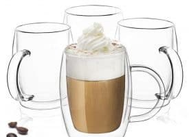 Dawn Double Wall Glasses Set of 4