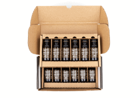 Specialty-Grade Cold Brew Concentrate / 12 2oz Bottle / Makes 16 Cups