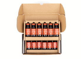 Extra Strength Cold Brew Concentrate / 12 2oz Bottle / Makes 16 Cups
