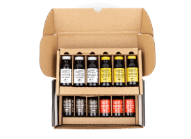 Build a Box / 12 2oz Bottles / Makes 12-16 Cups - Variety Pack (3 of Each)