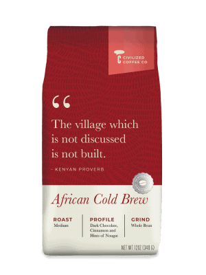 Civilized Coffee African Blend Cold Brew