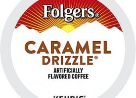 24 Ct Folgers Caramel Drizzle Coffee K-Cup® Pods. Coffee