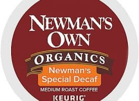 12 Ct Newman's Own Organics Newman's Special Decaf Coffee K-Cup® Pods. Coffee