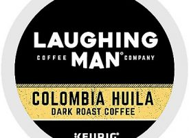 10 Ct Laughing Man Colombia Huila Coffee K-Cup® Pods. Coffee