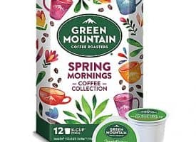 12 Ct Green Mountain Coffee Spring Mornings Coffee Collection K-Cup® Pods. Coffee
