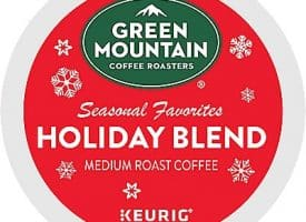 12 Ct Green Mountain Coffee Holiday Blend Coffee K-Cup® Pods. Coffee