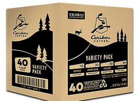 40 Ct Caribou Coffee Caribou Variety Pack K-Cup® Pods. Coffee