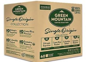 40 Ct Green Mountain Coffee Single Origins Collection K-Cup® Pods. Coffee