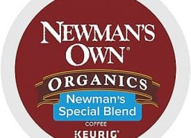 12 Ct Newman's Own Organics Newman's Special Blend Coffee K-Cup® Pods. Coffee