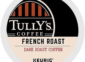 12 Ct Tully's Coffee French Roast Coffee K-Cup® Pods. Coffee