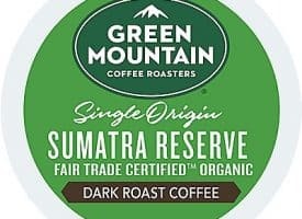 12 Ct Green Mountain Coffee Sumatra Reserve Coffee K-Cup® Pods. Coffee