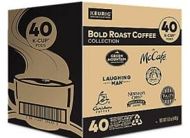 40 Ct Keurig Bold Roast Coffee Collection Variety Pack K-Cup® Pods. Coffee