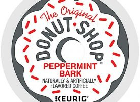 12 Ct The Original Donut Shop Peppermint Bark Coffee K-Cup® Pods.