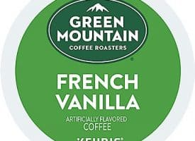 12 Ct Green Mountain Coffee French Vanilla Coffee K-Cup® Pods. Coffee