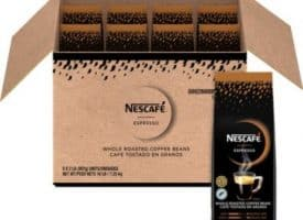 NES59095 2 lbs Espresso Whole Roasted Coffee Beans