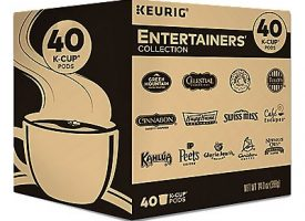 40 Ct Keurig Entertainers' Collection Variety Pack K-Cup® Pods. Coffee