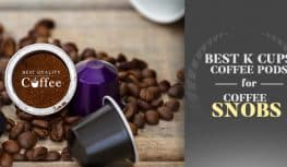 Best K Cups for Coffee Snobs